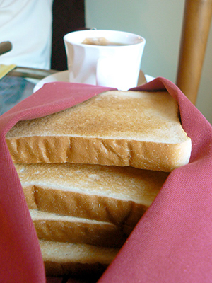 Dense sources of carbohydrate in the western diet, such as white bread, could promote weight gain by changing the upper GI tract microbiota. Source: http://www.freeimages.com/photo/1432133