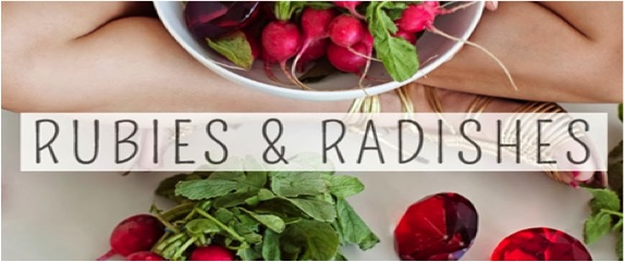 Rubies and Radishes blog image