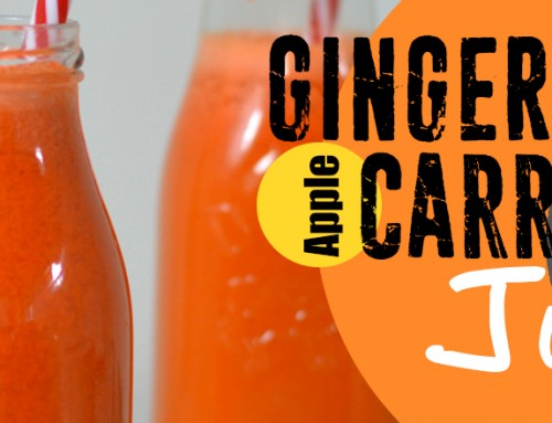 Ginger, Carrot, and Apple Juice
