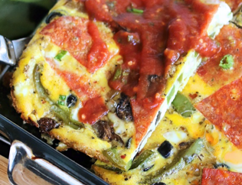 Pizza-Style Breakfast Bake