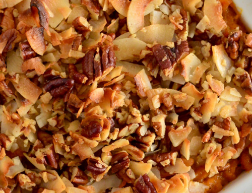 Pecan-Crusted Sweet Potato Casserole