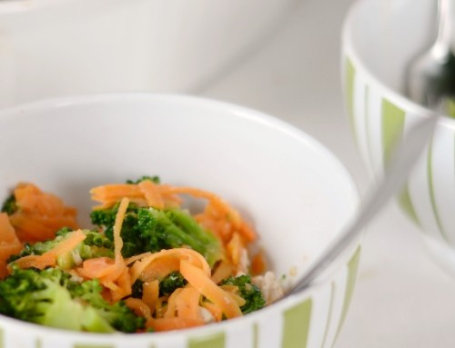 Chicken and Broccoli Casserole with Sweet Potato Noodles