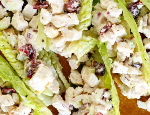 Macadamia-Cranberry Chicken Salad