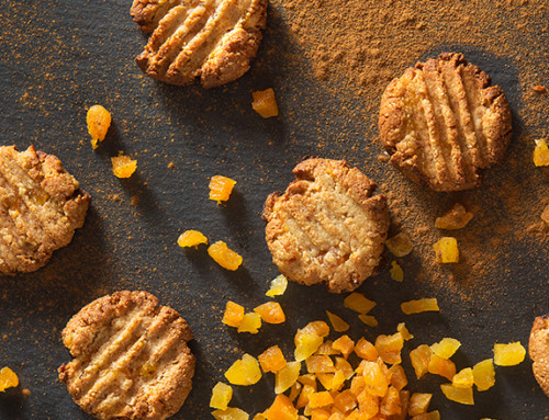 Chewy Cashew Apricot Cookies