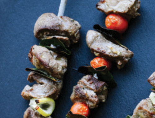 Greek Lamb Souvlaki