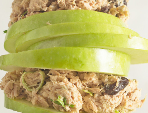 Tuna & Green Apple Salad
