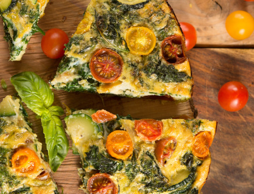 Crustless Summer Vegetable Quiche