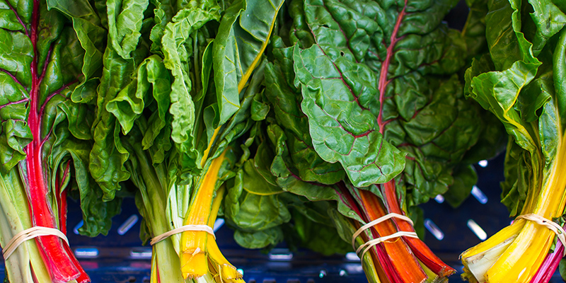In Season with Paleo Magazine Swiss Chard