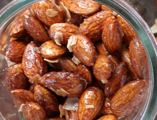 Cinnamon Coconut Almonds