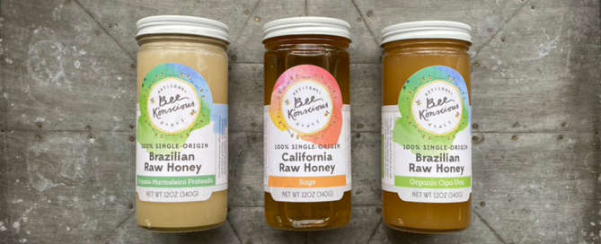 Bee K'onscious Raw Honey